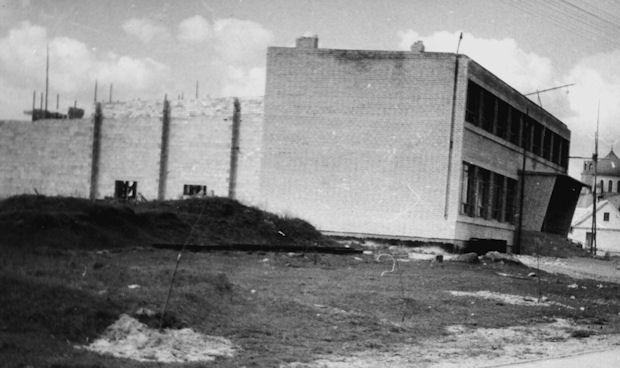 Dom Kultury w Gródku w budowie