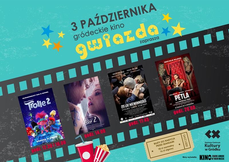 Plakat kino październik 2020 r.