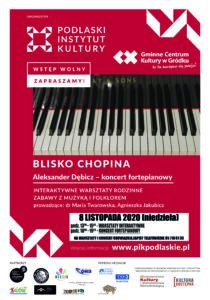 "Plakat ""Blisko Chopina"""